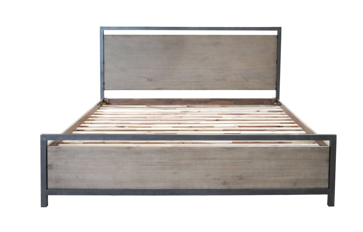 Solid Acacia Wood KING BED - Showhome Furniture