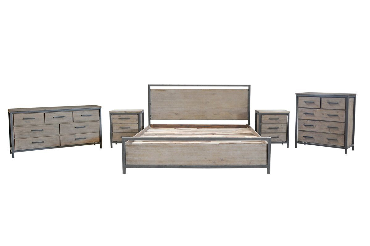 Solid Acacia Wood QUEEN BED Beds LH