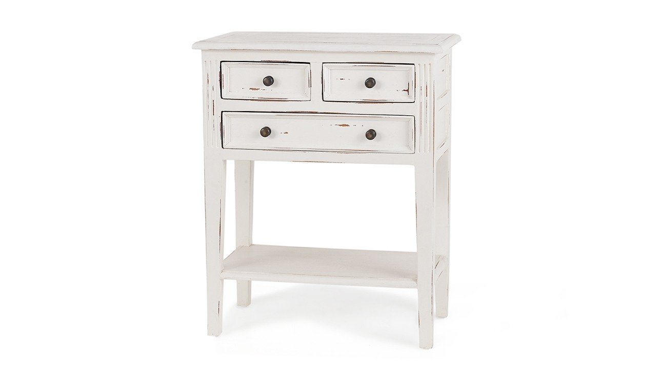 Eton 3 Drawer Side Table - Showhome Furniture