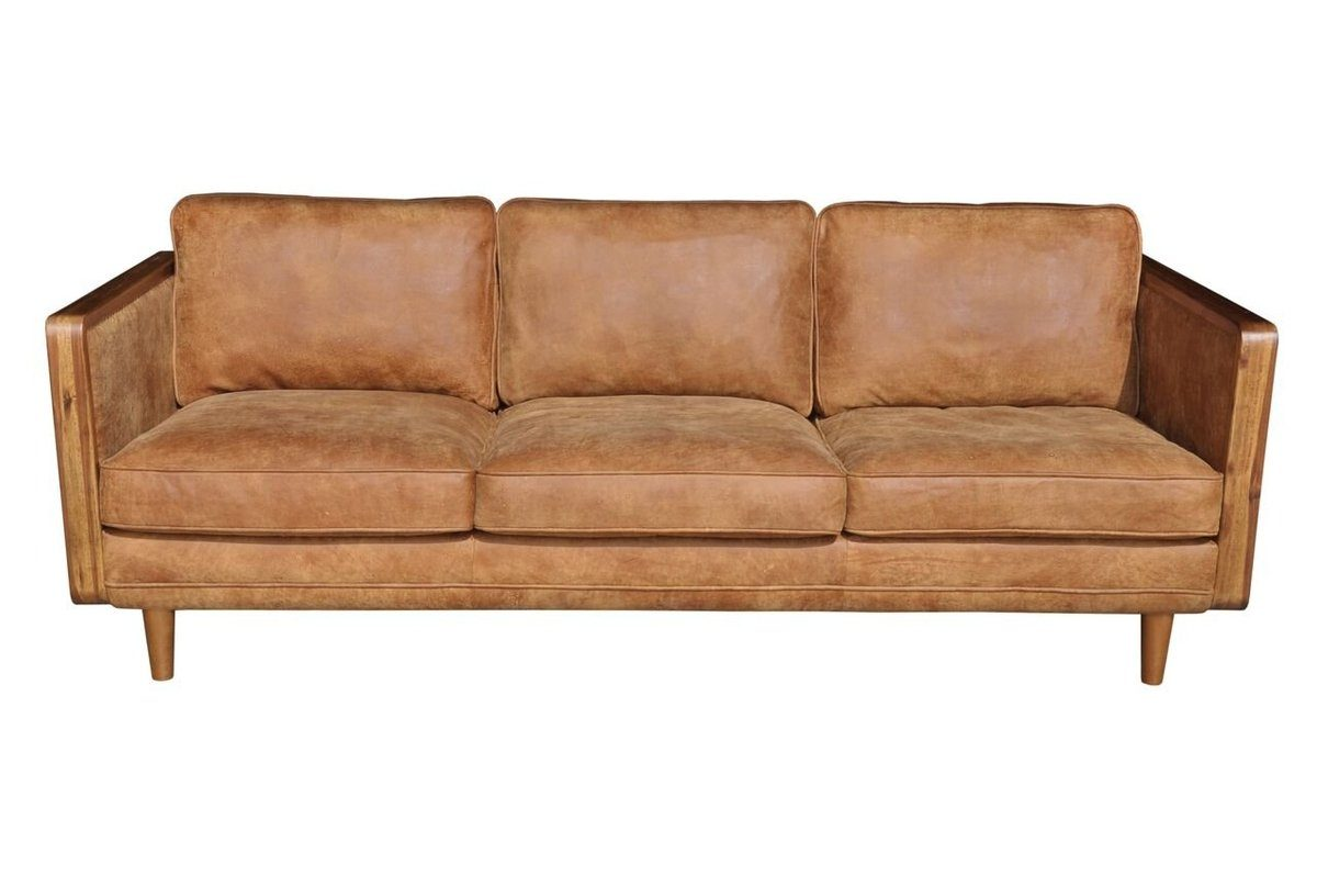 MID-CENTURY MANDALAY SOFA - OUTBACK TAN - Showhome Furniture