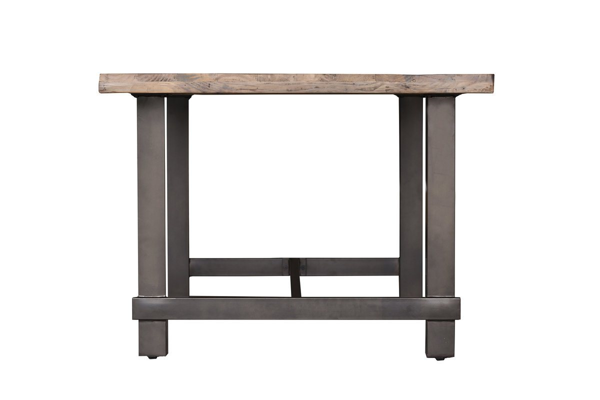 Solid recycled pine wood Dining Table - Showhome Furniture