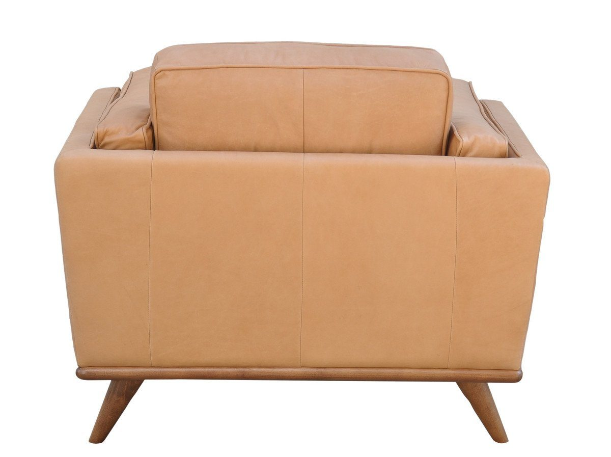 Las Vegas Aria Accent Chair - Charme Nude Leather