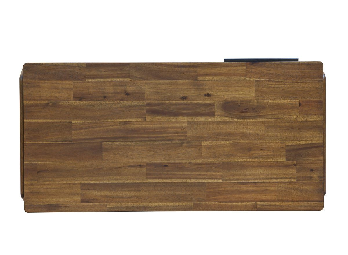 SOLID ACACIA WOOD COFFEE TABLE - Estelle Brown - Showhome Furniture