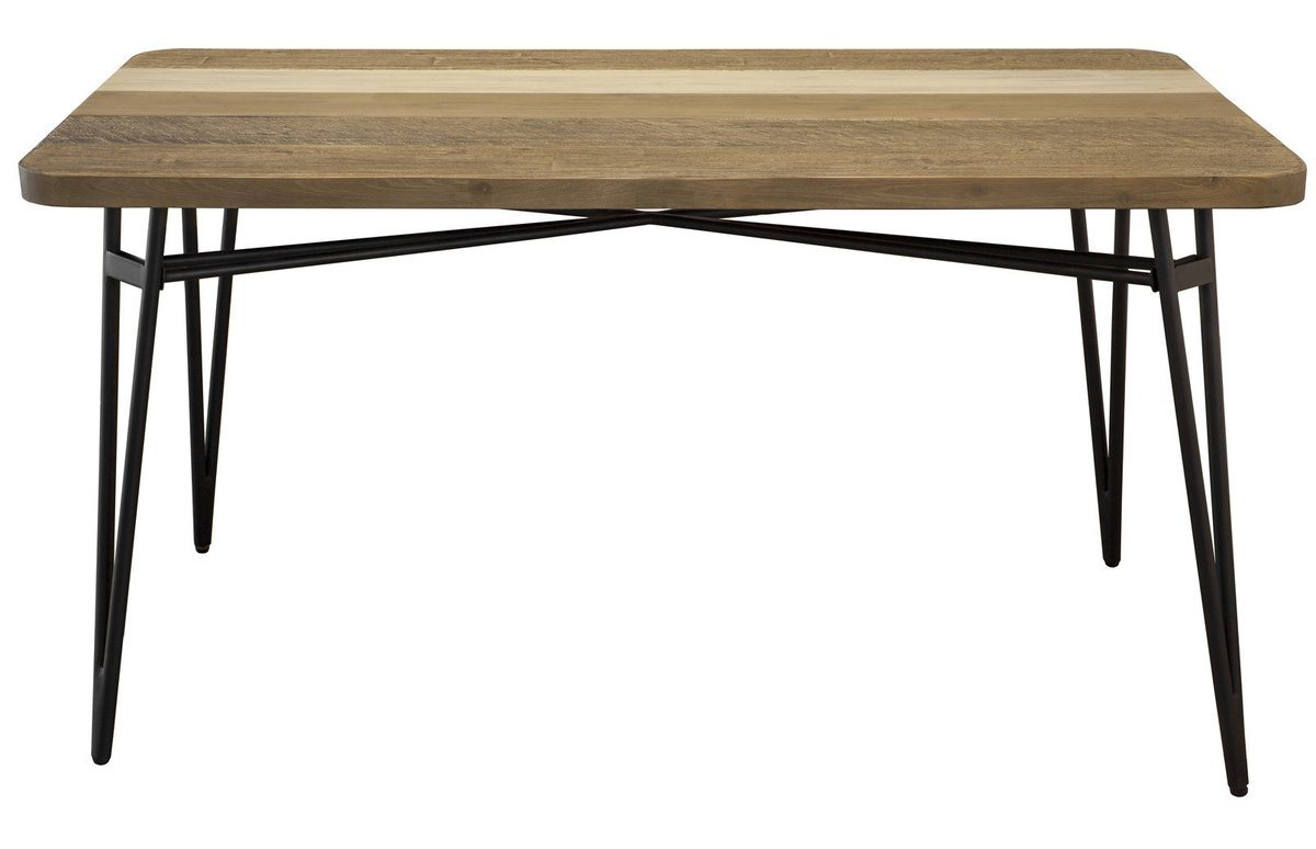 "SOLID ACACIA WOOD DINING TABLE 59"" - Showhome Furniture"