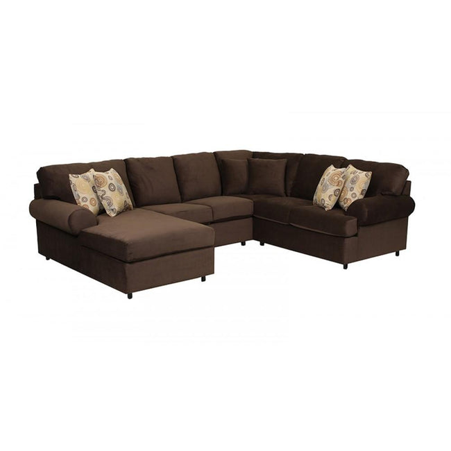 1414 SECTIONAL - CUSTOM CANADIAN MADE - BY DYNASTY - Showhome Furniture
