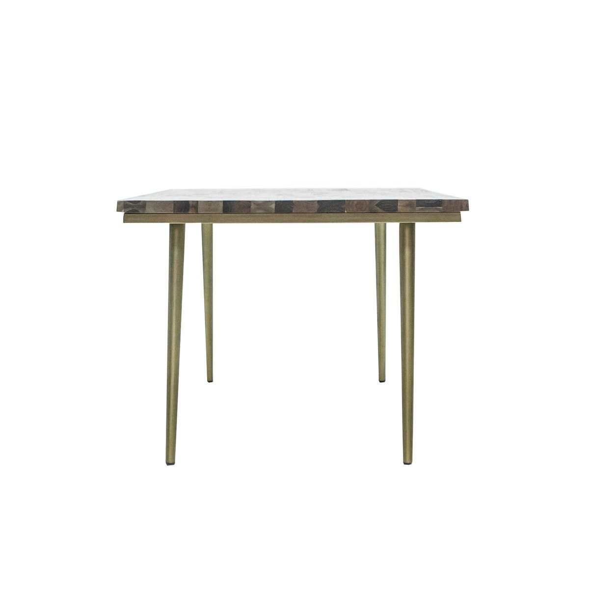 Mixed Solid Wood REGULAR DINING TABLE - Showhome Furniture