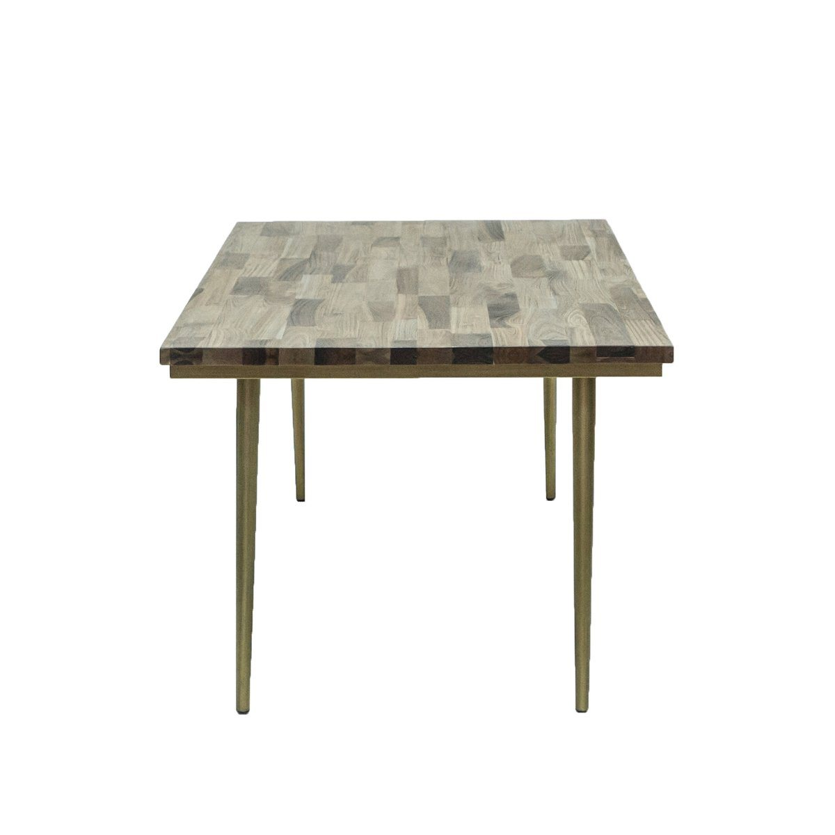 Mixed Solid Wood SMALL DINING TABLE - Showhome Furniture