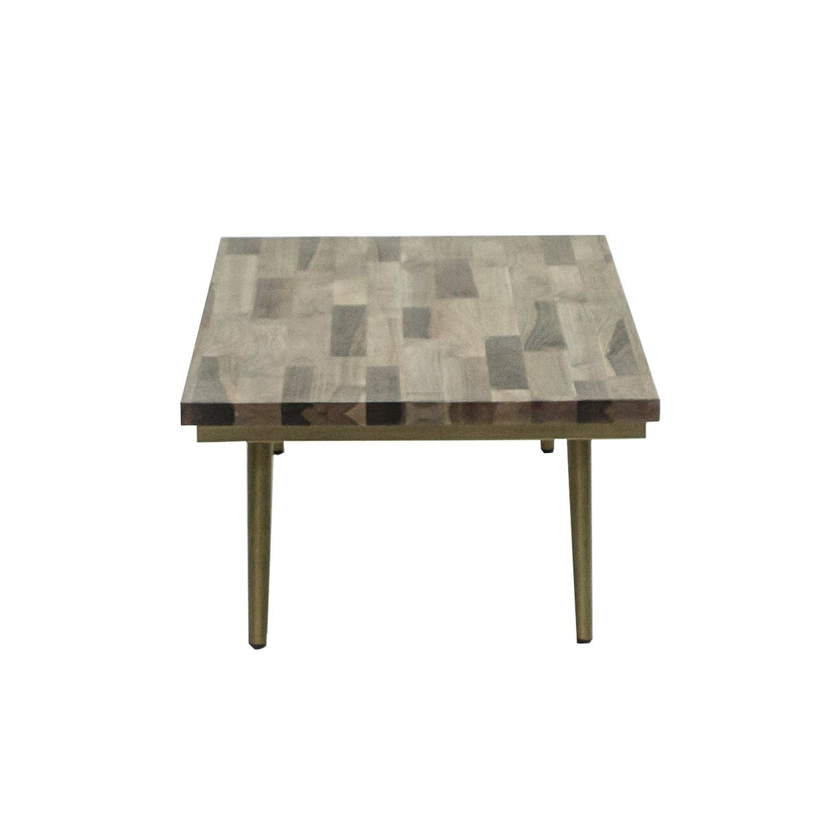 Mixed Solid Wood RECTANGULAR COFFEE TABLE - Showhome Furniture