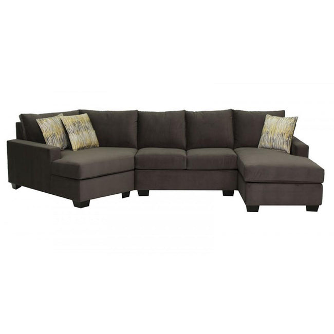 1702 SECTIONAL - CUSTOM CANADIAN MADE - BY DYNASTY - Showhome Furniture