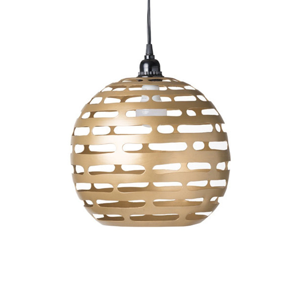 EARTH WIND FIRE LIGHTING PENDANT SMALL GOLD - Showhome Furniture