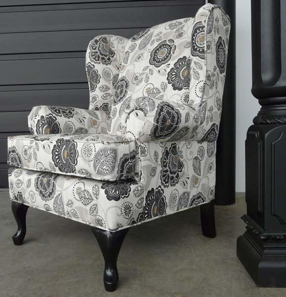1825-Wing Chair - Showhome Furniture
