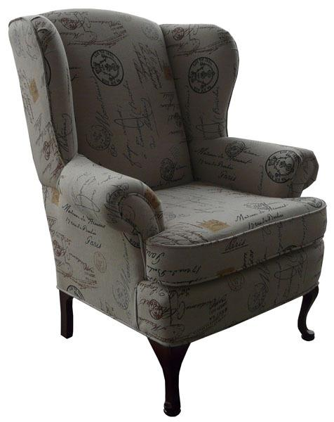 1860-Wing Chair - Showhome Furniture