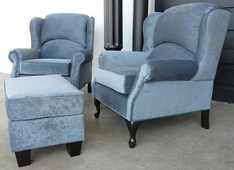 1875-Wing Chair - Showhome Furniture