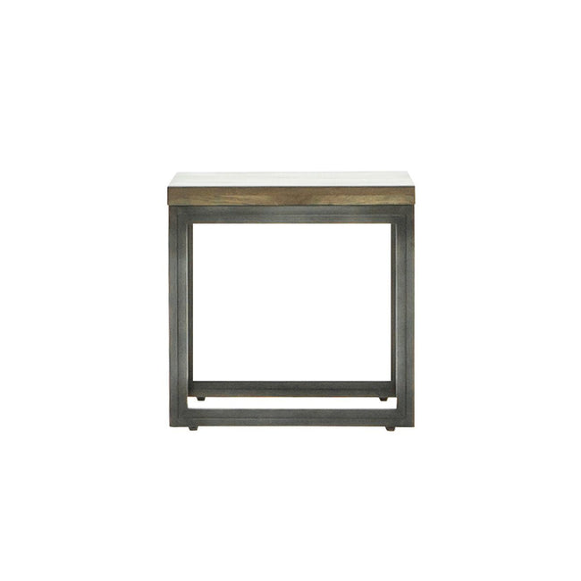 Woodcraft Modern Solid Wood Side Table | Calgary's Furniture Store