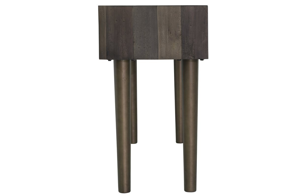 MERCHANT CONSOLE TABLE - SMOKED GREY - Showhome Furniture