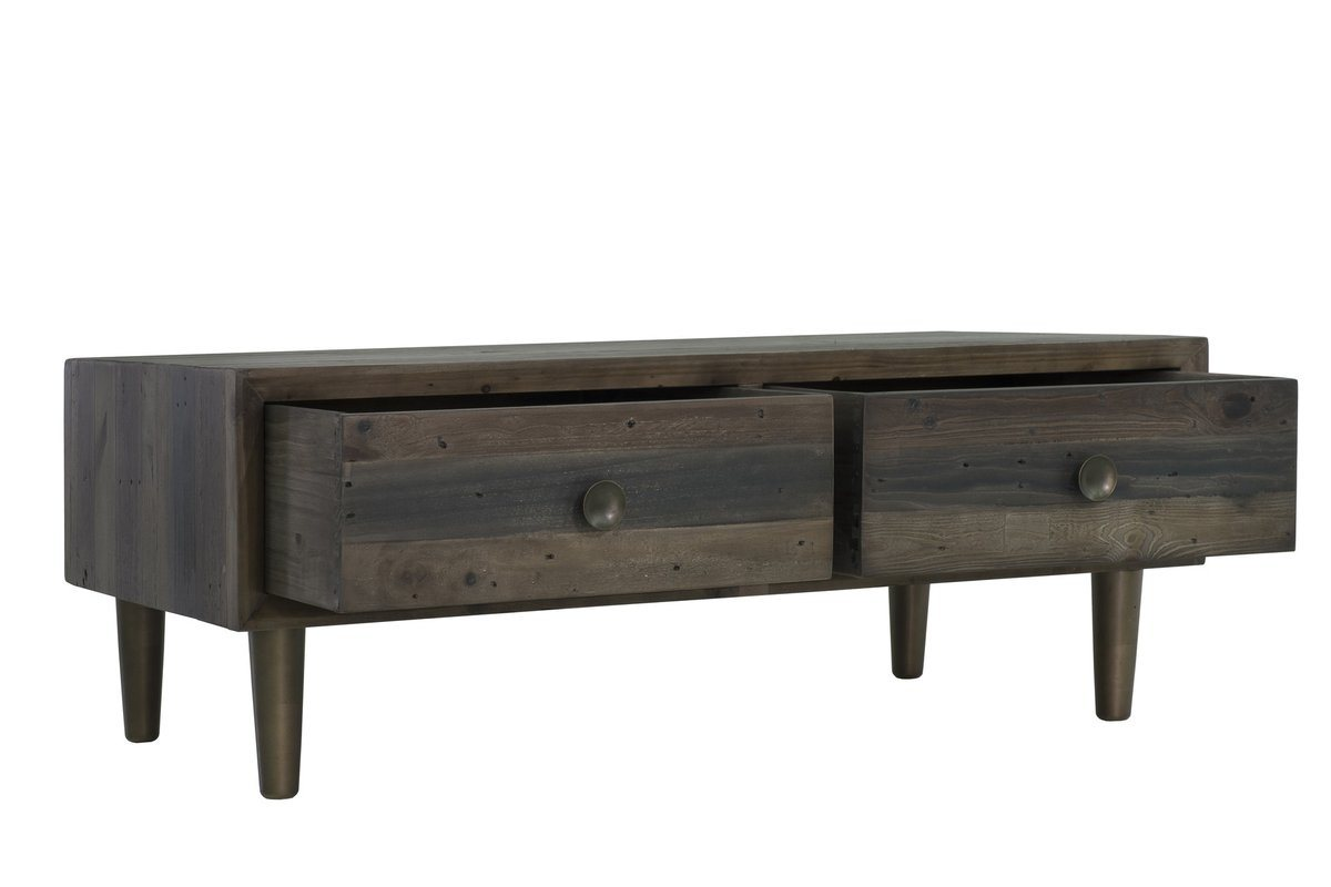 MERCHANT COFFEE TABLE - SMOKED GREY - Showhome Furniture