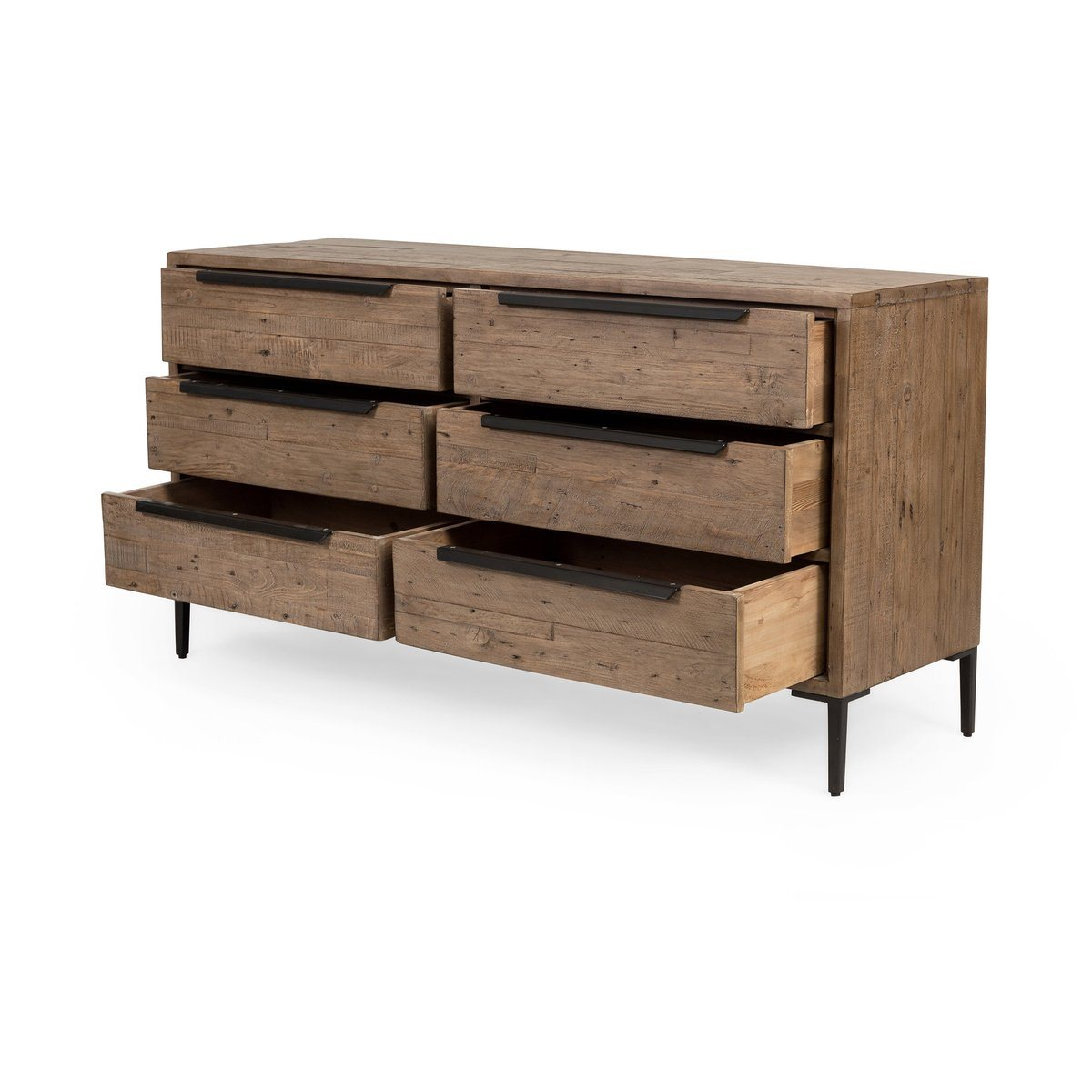 DRAWER DRESSER - RUSTIC SUNDRIED ASH - Showhome Furniture