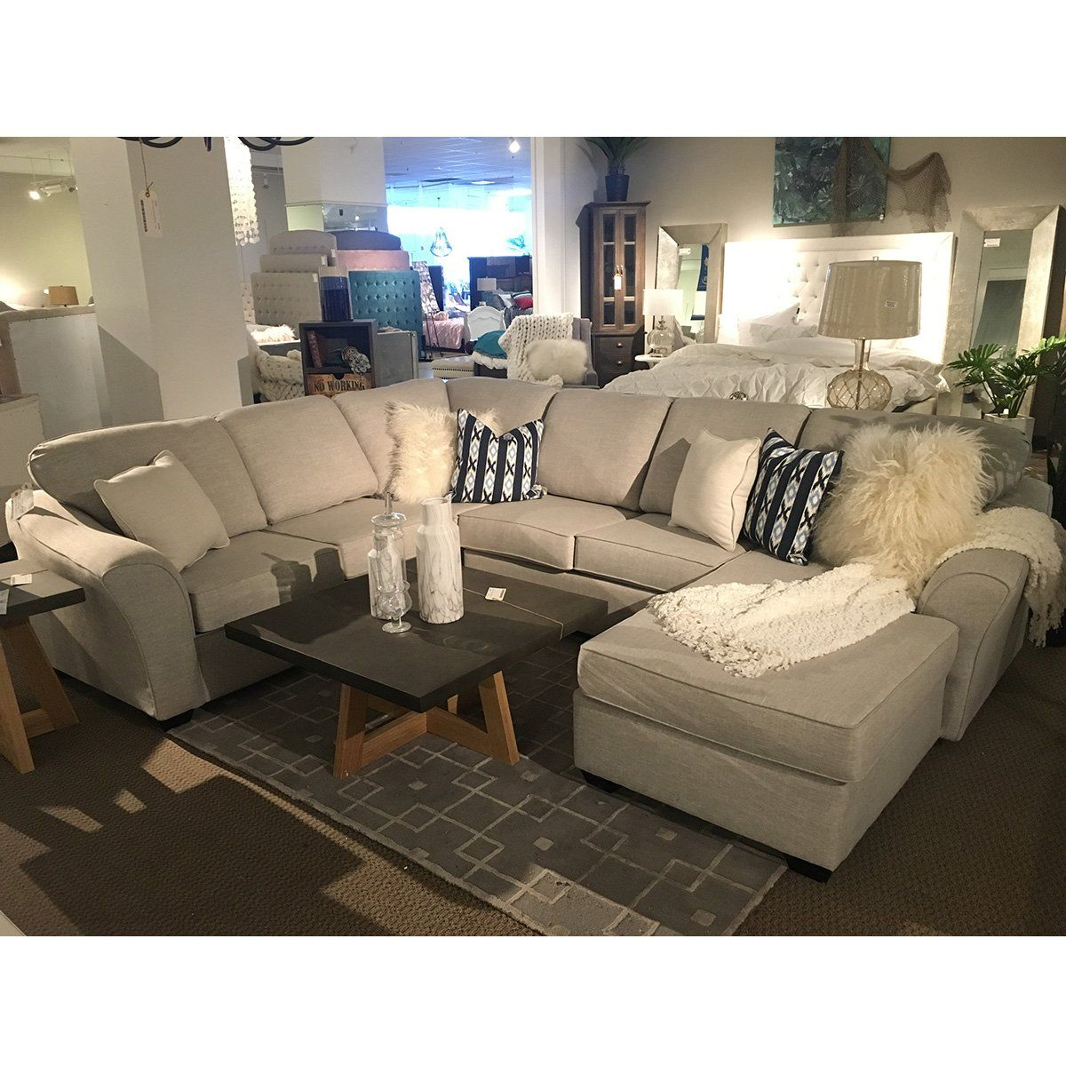 Tyson Custom Sectional, Made in Canada 🇨🇦 | Calgary's Furniture Store