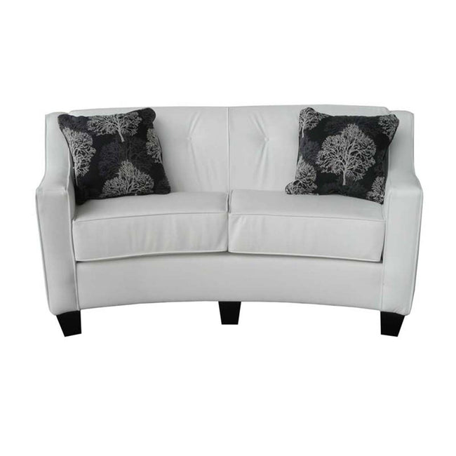 Custom Curve Loveseat - Showhome Furniture