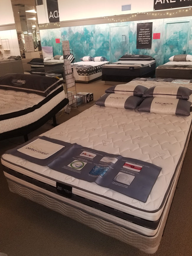 Aragon T-Top Mattress - King Koil | Calgary's Furniture Store