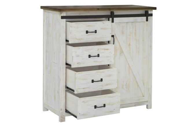 PROVENCE 4 DRAWER CHEST WITH 1 DOOR Dressers LH