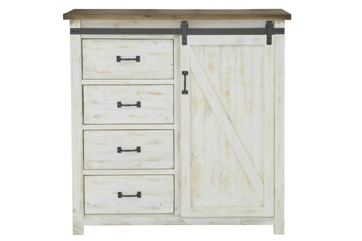 4 DRAWER CHEST WITH 1 DOOR - Showhome Furniture