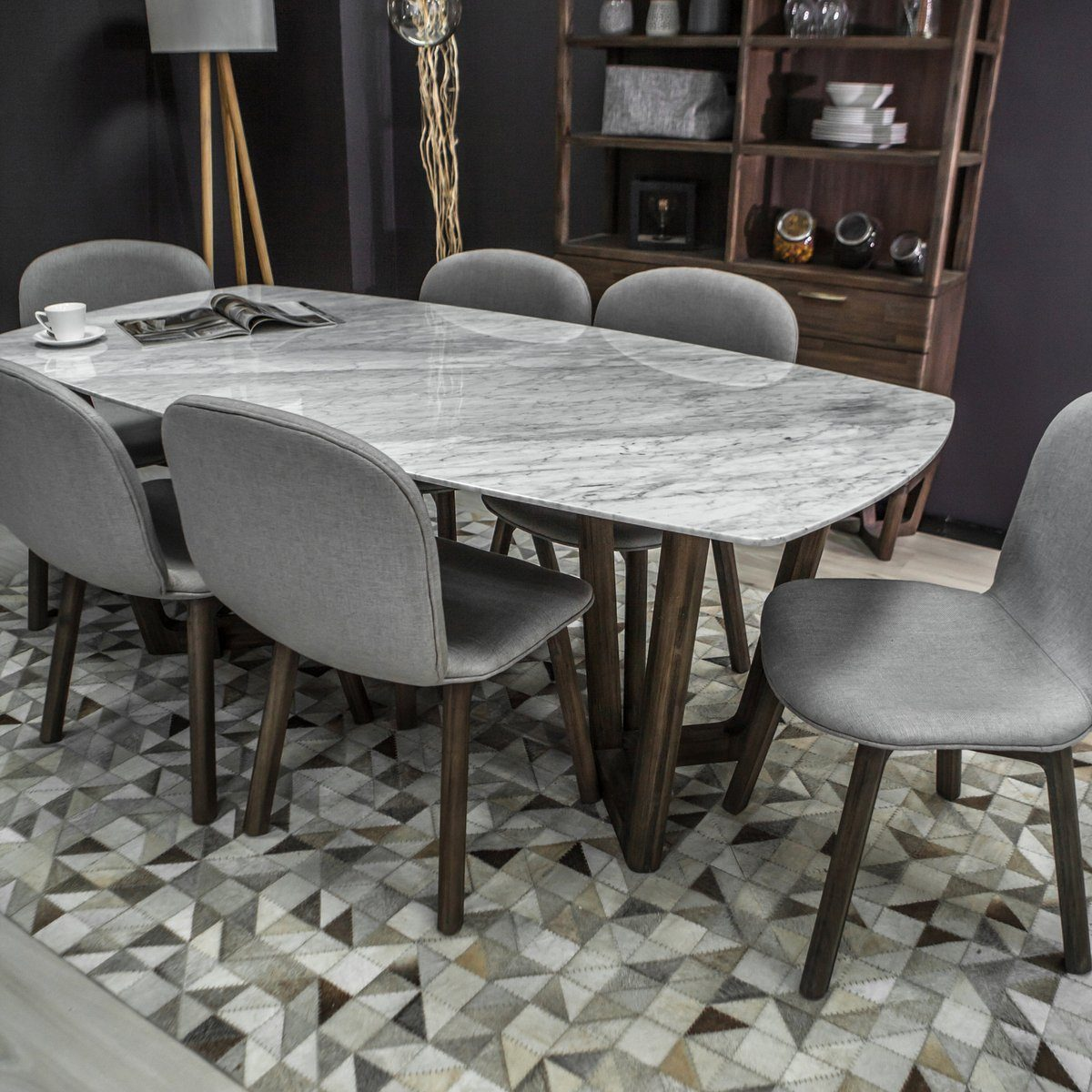 AURA DINING TABLE 71"