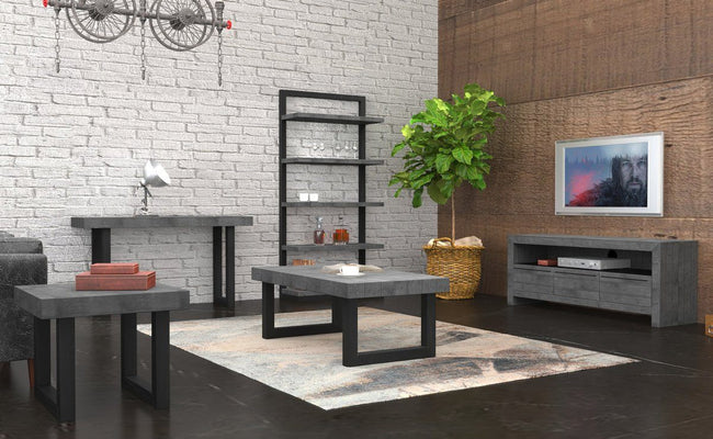New York Living Room Collection - Ash Grey - LH - Items Sold Separately Dining Tables Lh imports