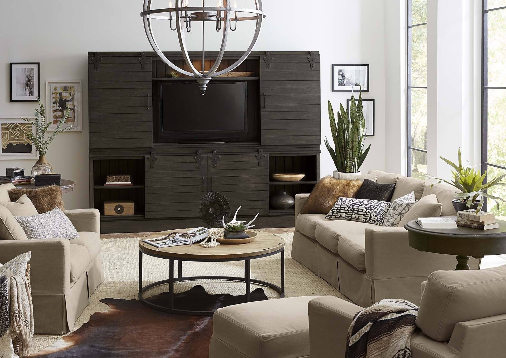 Sonoma 4 Door Sliding Cabinet - Showhome Furniture