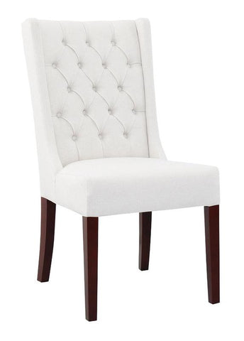 LH Cruz Dining Chair - Taupe Grey Fabric Seat