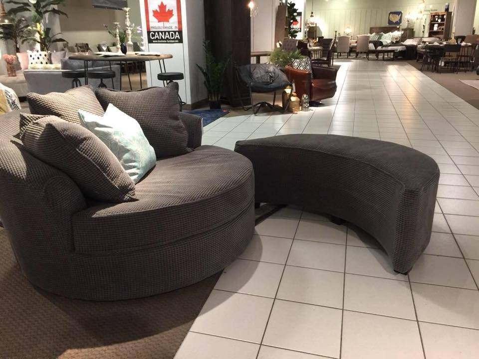 Custom Nest Chair Ottoman, Made in Canada 🇨🇦 | Calgary's Furniture Store