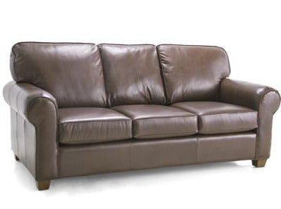 3179 LEATHER SOFA CUSTOM MADE IN CANADA , BY DECOR-REST