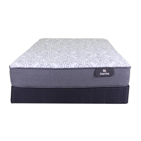 Serta - King I-Series Clairmont Euro Top Plush Mattress