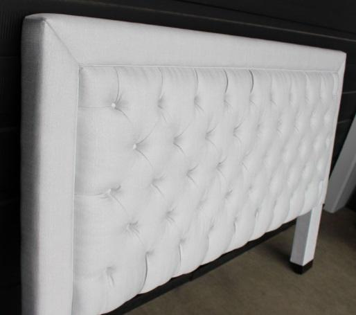 CUSTOM DAYTONA FABRIC TUFTED BED - Showhome Furniture