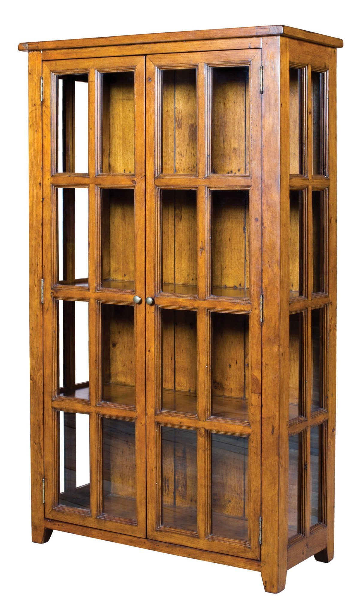 Irish Coast China Display Cabinet - African Dusk - Calgary Furniture