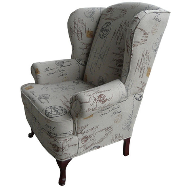 1860-Wing Chair Chairs Elite