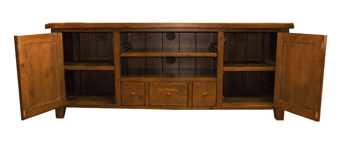 SOLID WOOD Regular TV Cabinet - African Dusk - Showhome Furniture