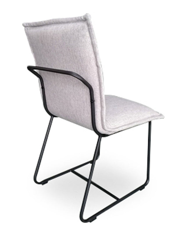 ALBA DINING CHAIR - TWILL GREY Dining Chairs Lh imports