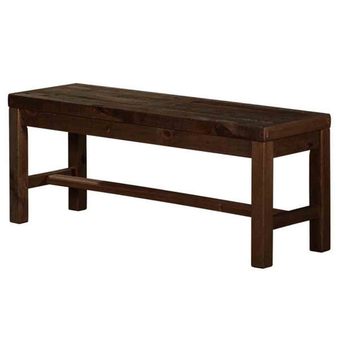 Solid recycled pine wood Dining Bench