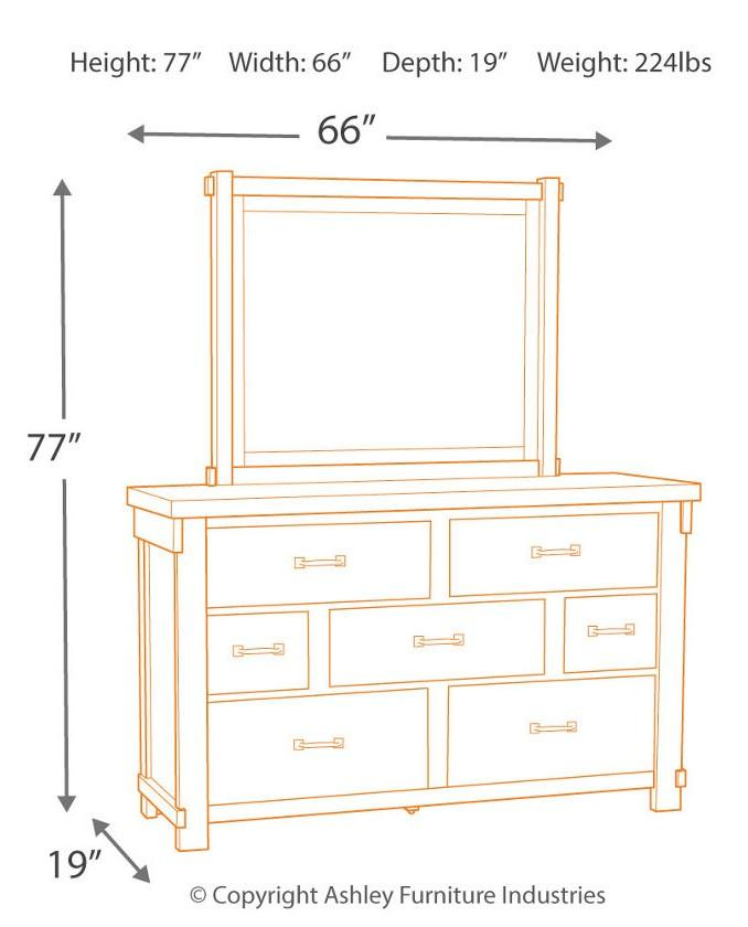 BRASHLAND DRESSER - Showhome Furniture