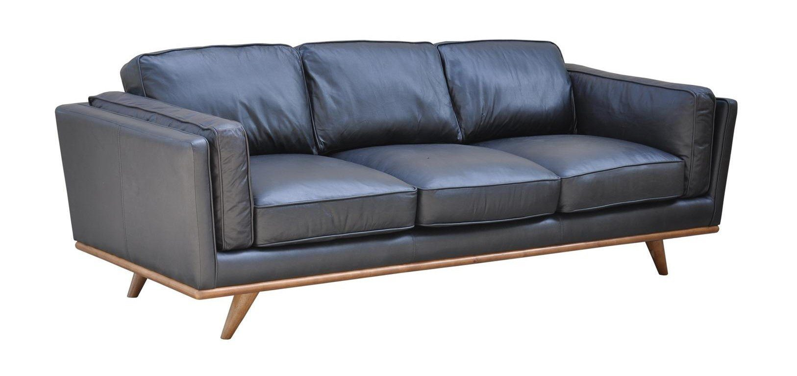 Aria Sofa - Black - Calgary Furniture