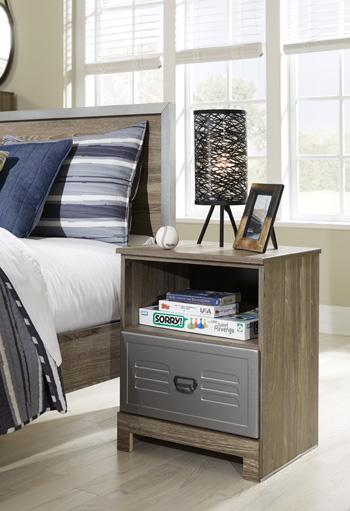 One Drawer Night Stand - Showhome Furniture