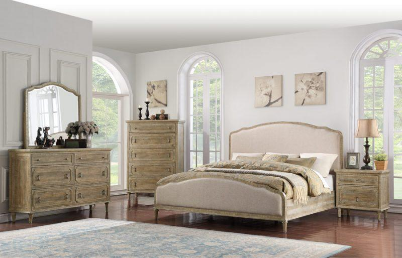 Interlude Bedroom Series - Sandstone Finish - Emerald Beds Emerald Home