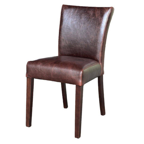 Chester Dining Chair - Dark Grey Twill