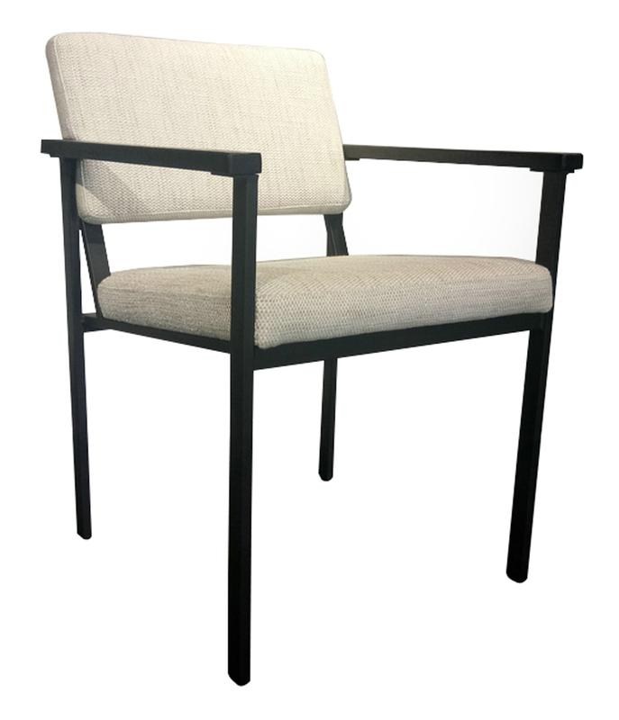 Condo Arm Chair - Tweed Beige | Calgary's Furniture Store