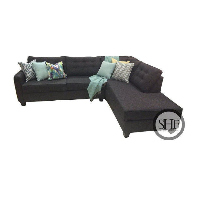 Custom Sectional w/Corner Chaise - Made in Canada - Showhome Furniture