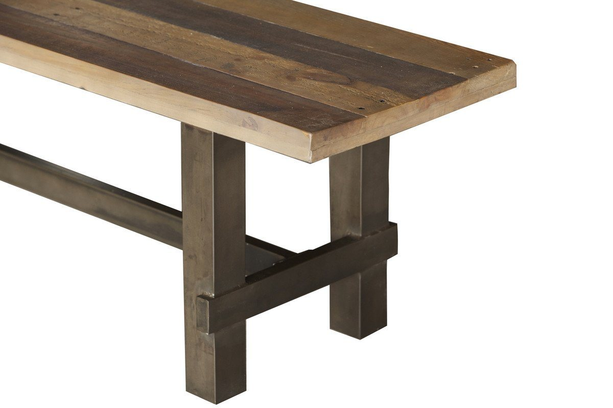 Solid recycled pine wood Dining Bench - Showhome Furniture