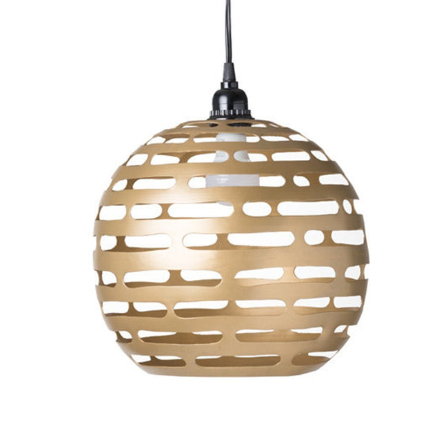 EARTH WIND FIRE LIGHTING PENDANT LARGE GOLD - Showhome Furniture