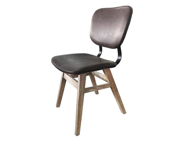 Fraser Dining Chair - Antique Brown (2/box) | Calgary's Furniture Store