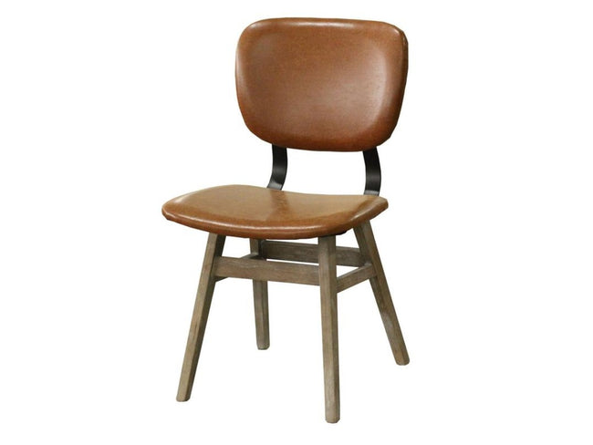 Fraser Dining Chair - Tan Brown | Calgary's Furniture Store